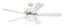 "Craftmade CES209W - Pro Energy Star 209 52"" Ceiling Fan in White (Blades Sold Separately)"