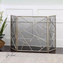 Uttermost 20072 - Uttermost Armino Modern Fireplace Screen