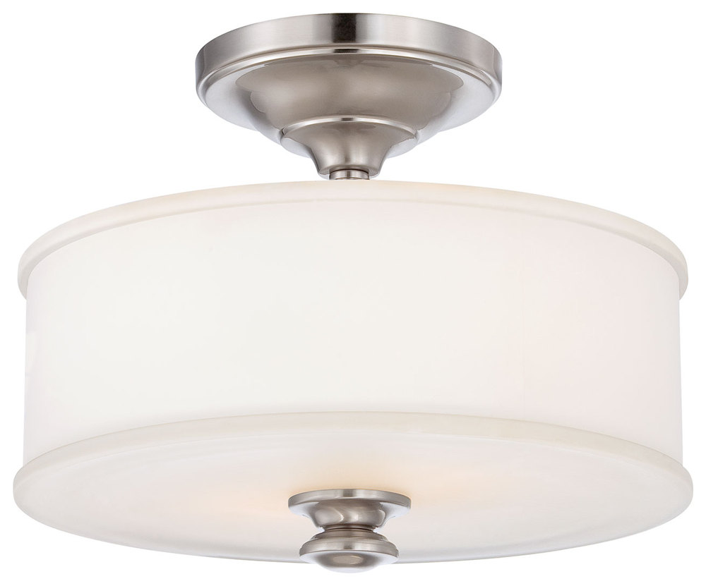 House of Lights in Mayfield Heights, Ohio, United States,  VRW9, 2 Light Semi Flush Mount, Harbour Point