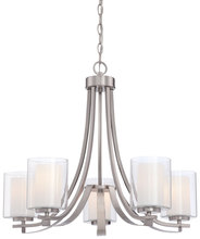 Minka-Lavery 4105-84 - Parsons Studio 5 Light Chandelier