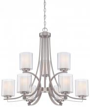 Minka-Lavery 4109-84 - 9 Light Chandelier