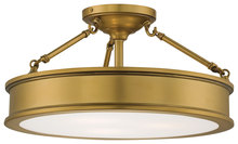 Minka-Lavery 4177-249 - 3 Light Semi Flush Mount