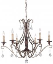 Minka-Lavery 4356-593 - 6 Light Chandelier