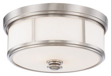 Minka-Lavery 4365-84 - 2 Light Flush Mount