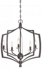 Minka-Lavery 4375-579 - 5 Light Chandelier