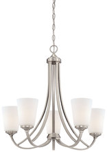 Minka-Lavery 4965-84 - 5 Light Chandelier
