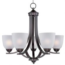 Maxim 11225FTOI - Axis 5-Light Chandelier