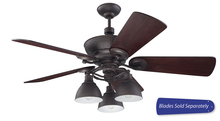 "Craftmade TIM54ABZ - Timarron 54"" Ceiling Fan with Light in Aged Bronze Brushed (Blades Sold Separately)"