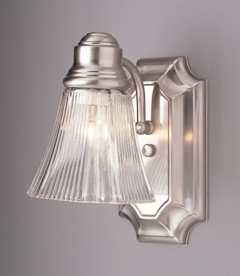 "House of Lights in Mayfield Heights, Ohio, United States,  A7C1, Del Rey 5"" Wall Sconce, Argenta"