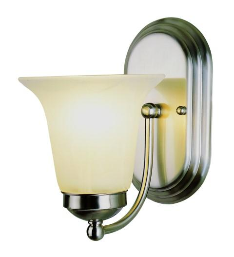 "House of Lights in Mayfield Heights, Ohio, United States,  A99W, Rusty 6"" Wall Sconce, Morgan House"
