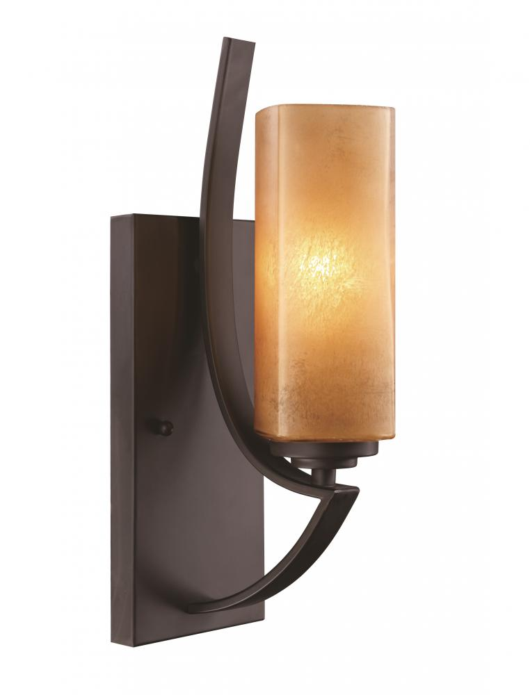 House of Lights in Mayfield Heights, Ohio, United States,  WH8M, 1LT WALL SCONCE-ABZ-BRONZE GLA,