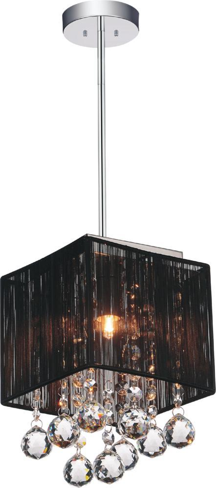 House of Lights in Mayfield Heights, Ohio, United States,  3060226, 1 Light Chrome Drum Shade Mini Pendant from our Shower collection, Shower