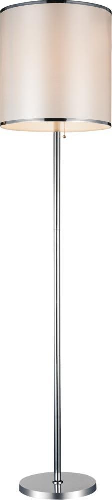 House of Lights in Mayfield Heights, Ohio, United States,  30636M1, 1 Light Chrome Floor Lamp from our Orchid collection, Orchid