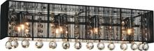 Crystal World 5556W24C-RC (B) - 4 Light Chrome Vanity Light from our Shower collection