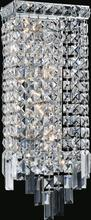 Crystal World 8031W7C - 4 Light Chrome Wall Light from our Colosseum collection