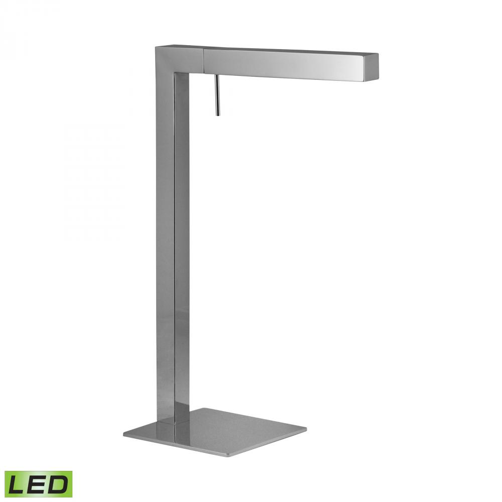 Chrome LED Desk Lamp