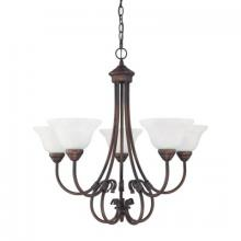 Capital 3226BB-220 - 5 Light Chandelier