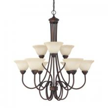 Capital 3229BB-220 - 9 Light Chandelier