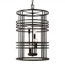 Capital 512441OB - 4 Light Foyer