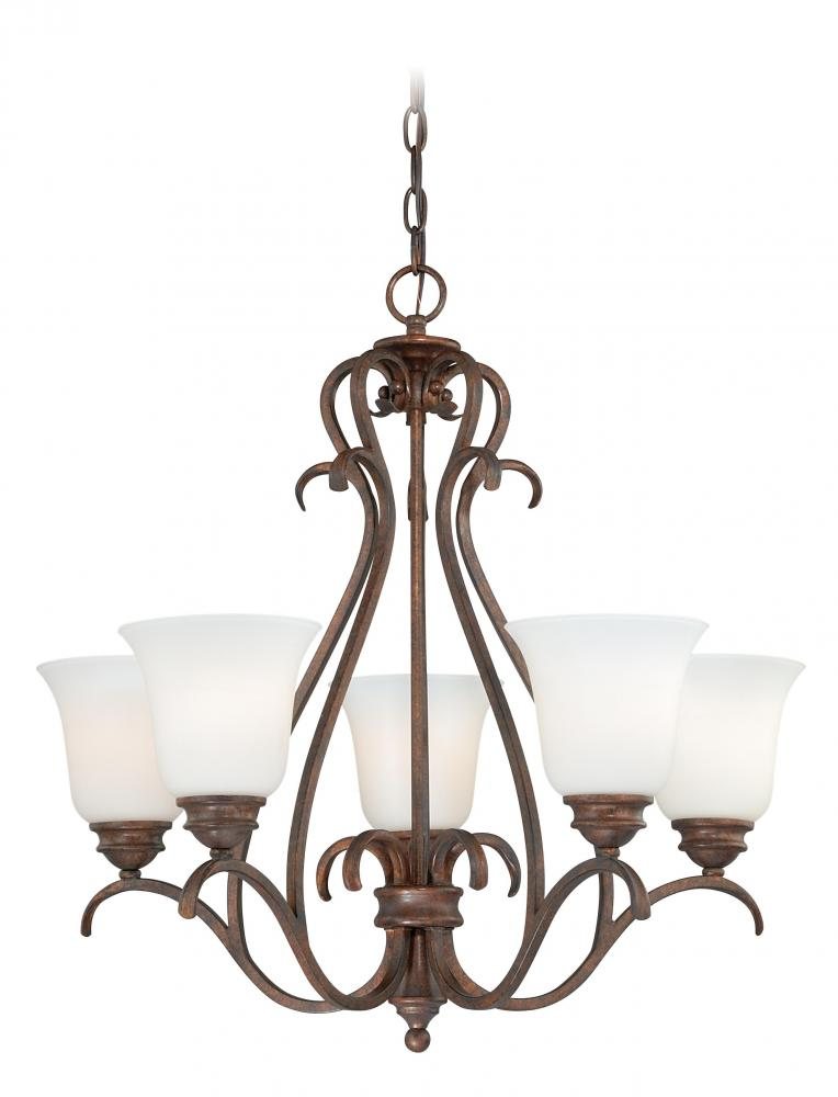 House of Lights in Mayfield Heights, Ohio, United States,  ERPU, Hartford 5L Chandelier, Hartford