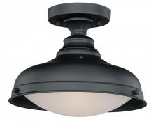 Vaxcel International C0113 - Keenan 1L Semi-Flush Mount Oil Rubbed Bronze