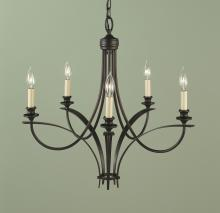 Feiss F1888/5ORB - 5- Light Chandelier