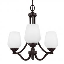 Feiss F2963/3HTBZ - 3 - Light Chandelier