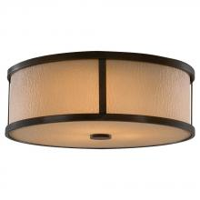 Feiss FM334HTBZ - 3- Light Indoor Flush Mount