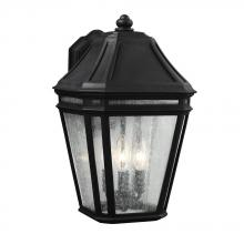 Feiss OL11302BK - 3 - Light Outdoor Sconce