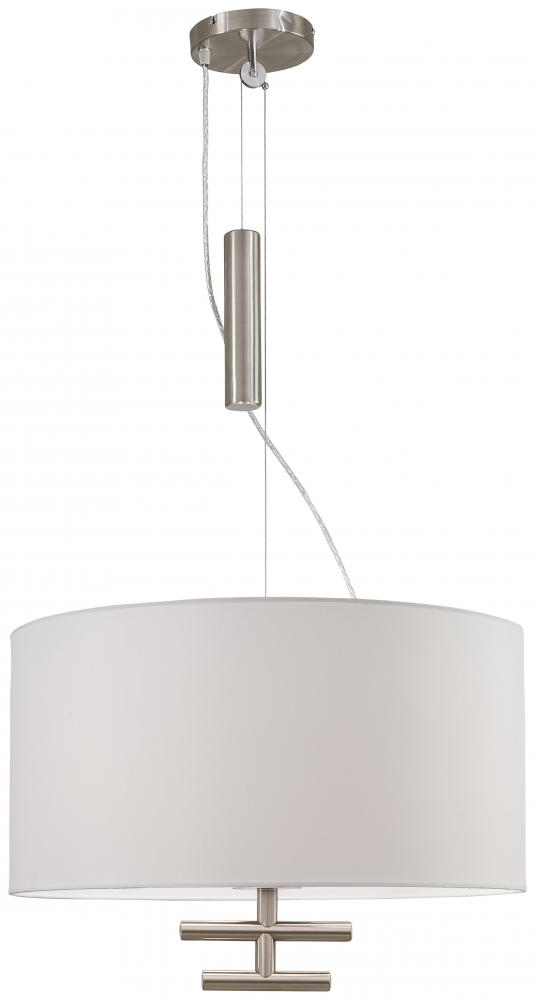 House of Lights in Mayfield Heights, Ohio, United States,  8GDR, 3 LIGHT PENDANT, Counter Weights