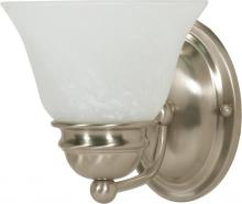"Nuvo 60/340 - Empire 1 Light 7"" Vanity"