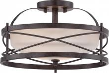 Nuvo 60/5335 - Ginger - 2 Light Semi Flush