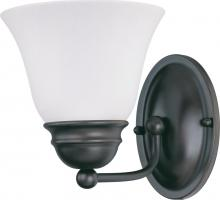 "Nuvo 62/1021 - LED Empire 1 Light 7"" Vanity"