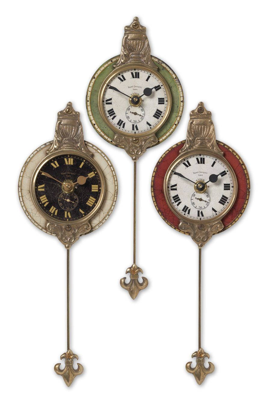 House of Lights in Mayfield Heights, Ohio, United States,  9PYUZ, Uttermost Monarch Wall Clock Set/3, Monarch