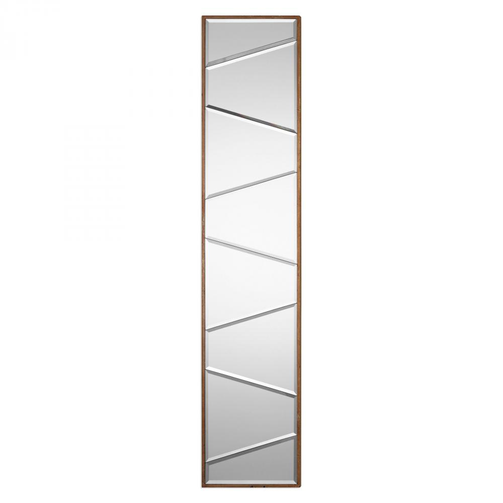 House of Lights in Mayfield Heights, Ohio, United States,  9WUAF, Uttermost Zodia Narrow Beveled Mirror, Zodia