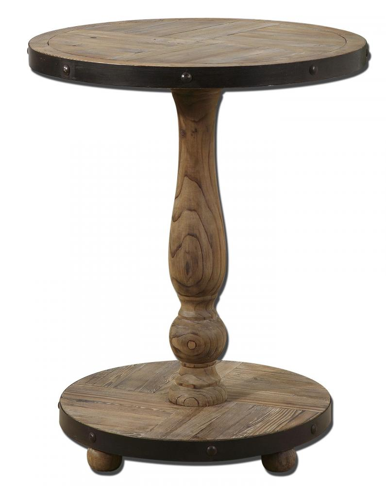 House of Lights in Mayfield Heights, Ohio, United States,  UWYZ, Uttermost Kumberlin Wooden Round Table, Kumberlin
