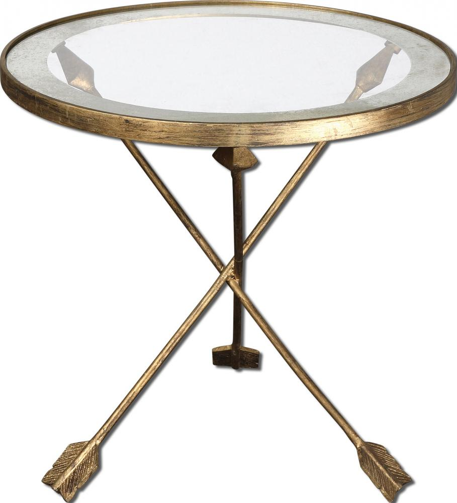 House of Lights in Mayfield Heights, Ohio, United States,  UYZZ, Uttermost Aero Glass Top Accent Table, Aero