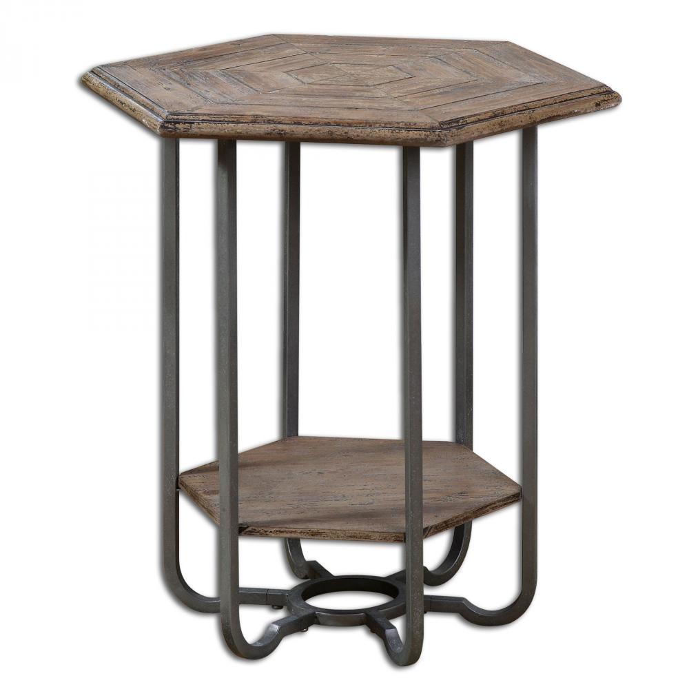 House of Lights in Mayfield Heights, Ohio, United States,  9LQAW, Uttermost Mayson Wooden Accent Table, Mayson