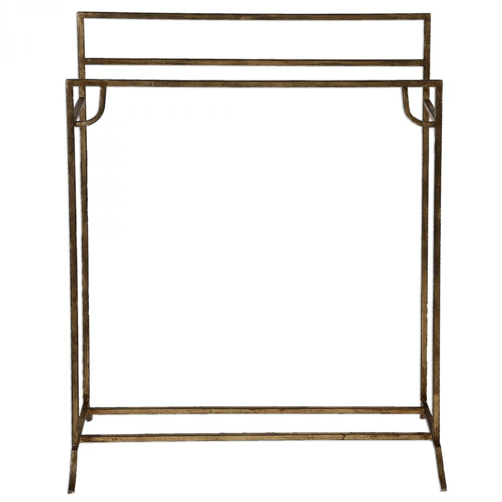 Uttermost Perico Gold Towel Stand