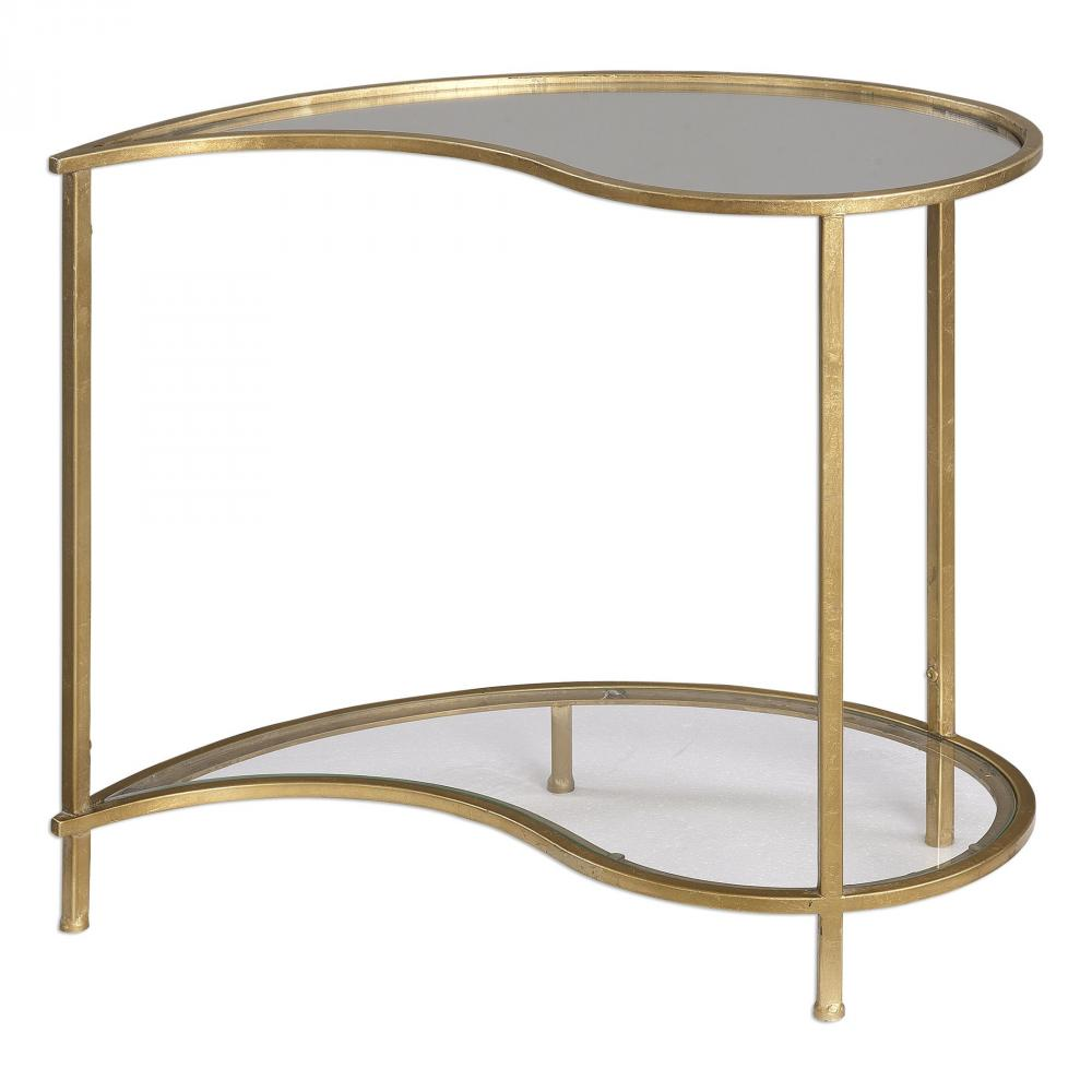 House of Lights in Mayfield Heights, Ohio, United States,  9TTN6, Uttermost Darcie Teardrop Bunching Side Table, Darcie