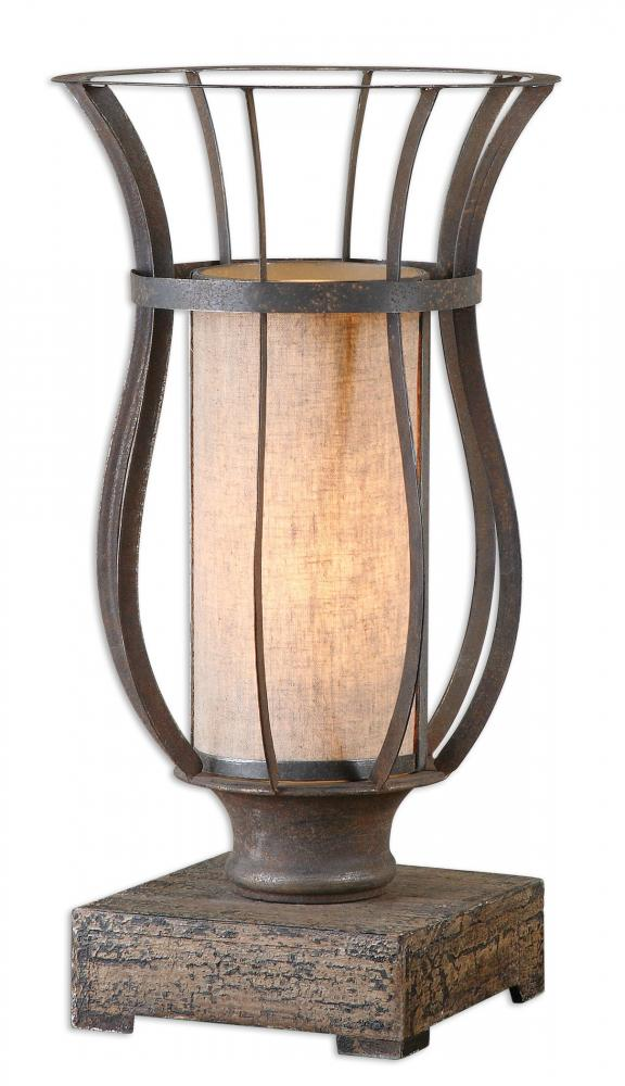 House of Lights in Mayfield Heights, Ohio, United States,  Y3HW, Uttermost Minozzo Bronze Accent Lamp, Minozzo