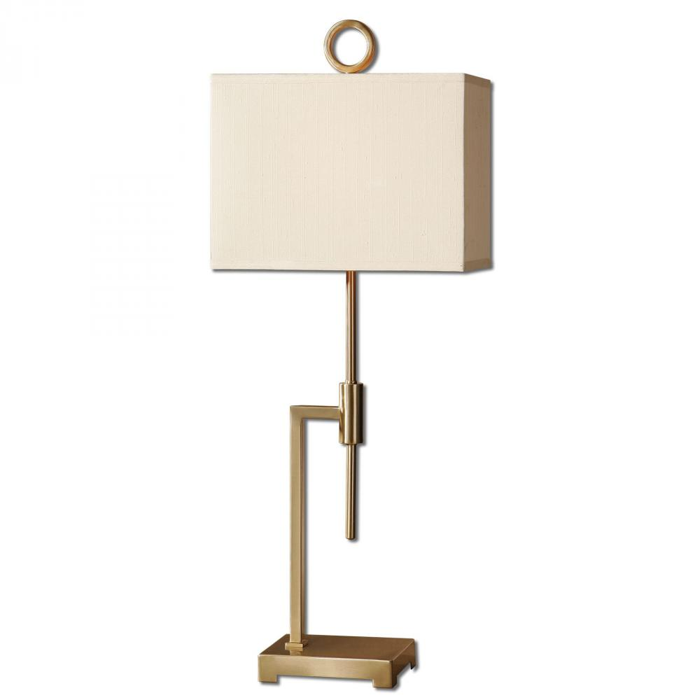 House of Lights in Mayfield Heights, Ohio, United States,  9LPC1, Uttermost Feldon Coffee Bronze Accent Lamp, Feldon