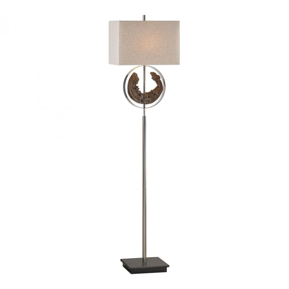 shirley home round floor lamp products artisan with driftwood buy noeway teak base