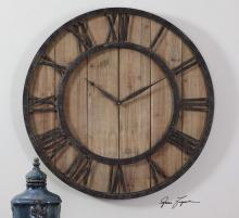 Uttermost 06344 - Uttermost Powell Wooden Wall Clock