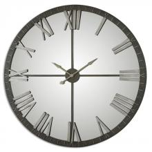 Uttermost 06419 - Uttermost Amelie Large Bronze Wall Clock