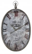 Uttermost 06642 - Uttermost Argento Antique Wall Clock