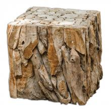 Uttermost 25592 - Uttermost Teak Root Bunching Cube