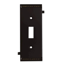 ELK Lighting 2504AGB - Clickplates Middle Switch Plate In Aged Bronze