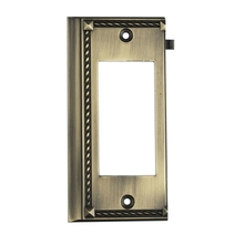 ELK Lighting 2508AB - Clickplates End Plate In Antique Brass